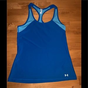 Under Armour Women's tank top small blue